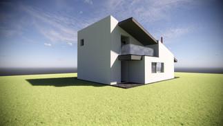 Ampliación de vivienda en Llanera