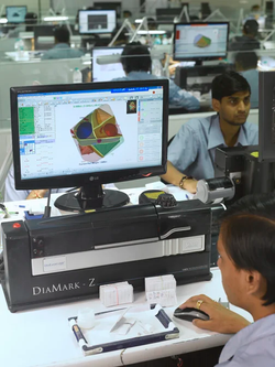 technology used in diamond industry