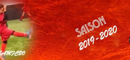ORGANISATION ECOLE DE FOOTBALL SAISON 19/20