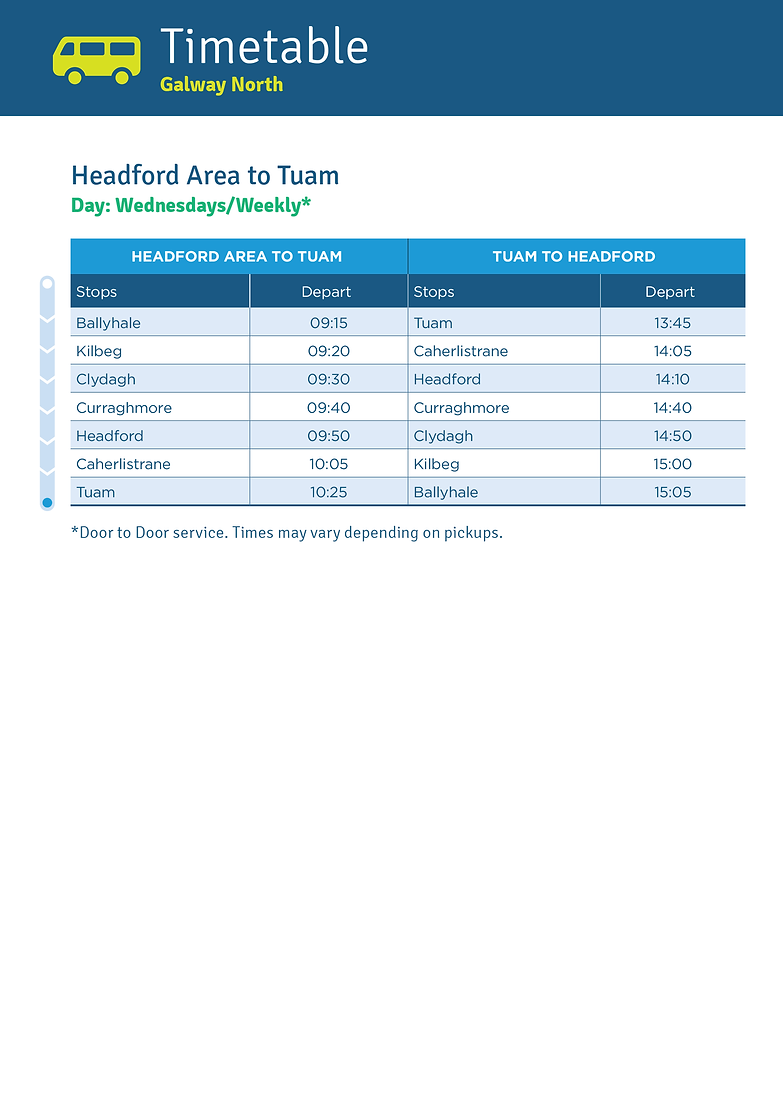 Headford Area to Tuam