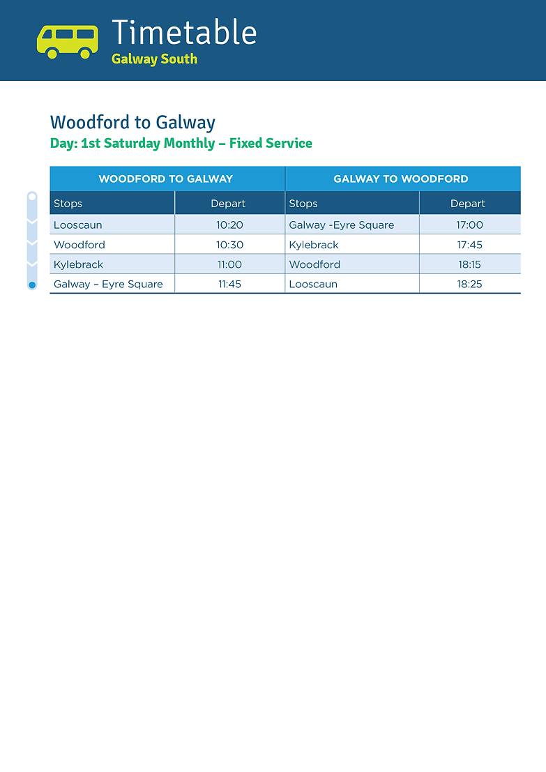 Woodford to Galway