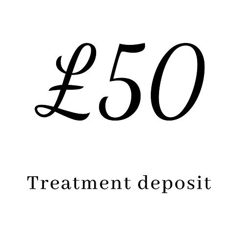 £50 deposit