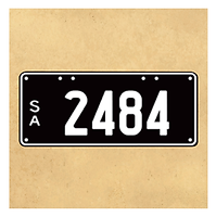 sa south australia numeric numerical plates numberplates number low-digit collectable