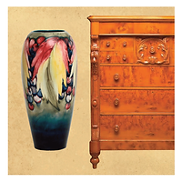 vase chest of drawers royal doultan winton crown derby worcester lalique galle daum huon pine cedar mahogany bookcase moorcroft