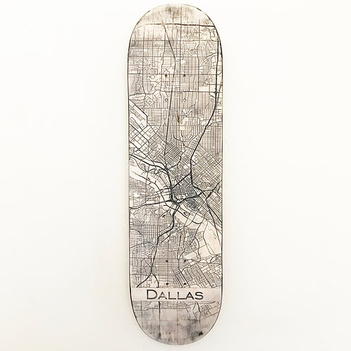 Distressed with Natural Background and black engraving.
