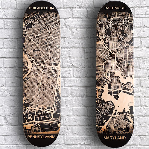 City Map Decks (Montgomery - Yonkers)