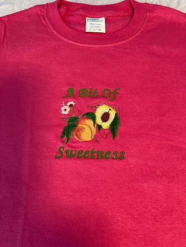Youth Tee Shirt, S, Sangria, A Bit of Sweetness