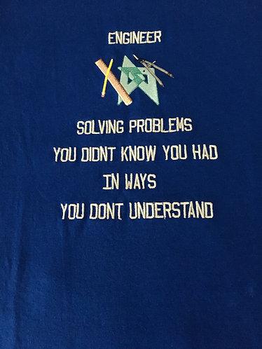 Engineer Men's Tee Shirt,