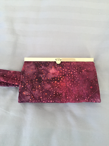 Wineberry Clutch Purse