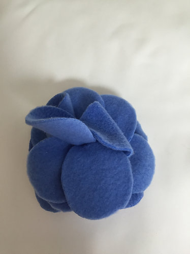 """Flower Pin-Med Blue 4.5"""""""