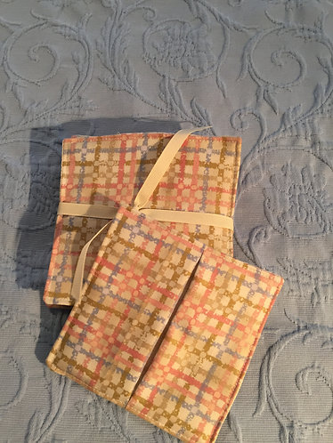 Quilted Wine Coasters-404
