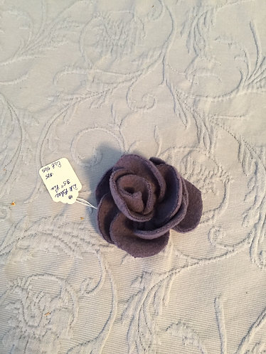 Flower Pin-Dark Blue 3.5""