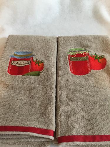 KT-17-108 Salsa & 18-109 Tomato Sauce on  Beige each