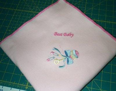 Receiving Blanket-Rattle