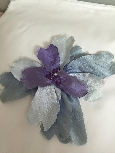 """Flower Pin-Blue Violet-9"""""""