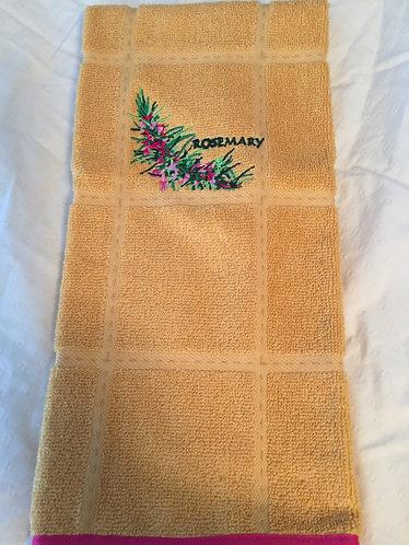 18-160 Rosemary on Mustard
