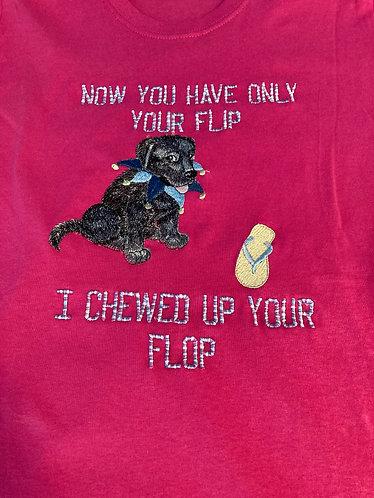 Tee Shirt, Ladies S, Sanria, Flip Flop