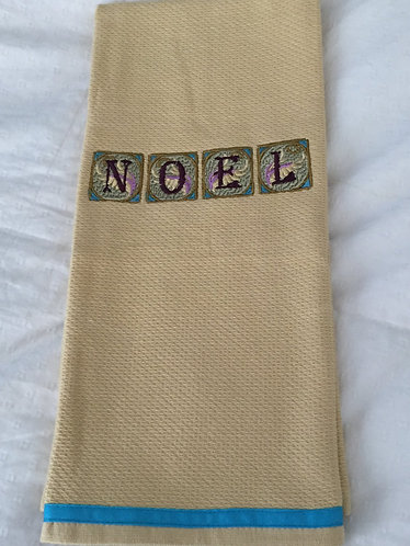 19-149- Noel Art Deco Kitchen Towel