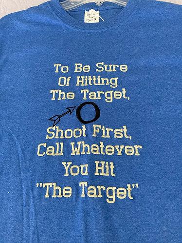 Tee shirt, Men S, Heather Royal, The Target