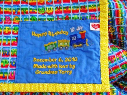Quilt Label-Happy Birthday (Others available)