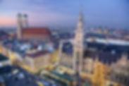Panorama vom Münchener Christkindelmarkt