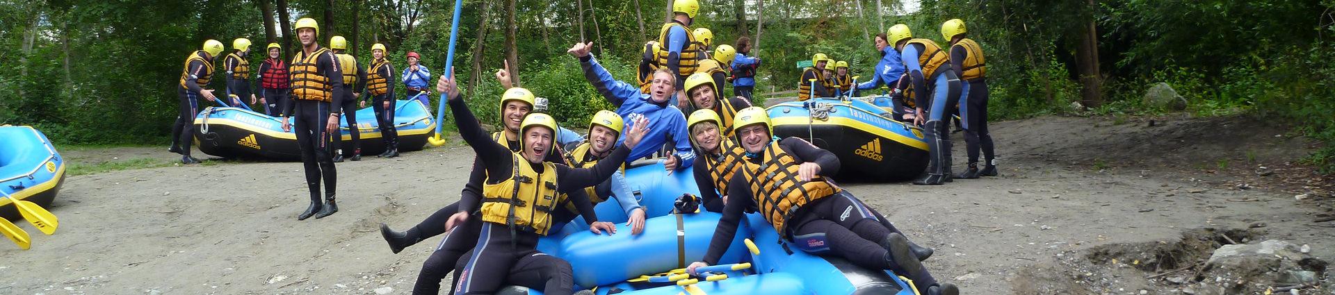 Ideen JGA Rafting