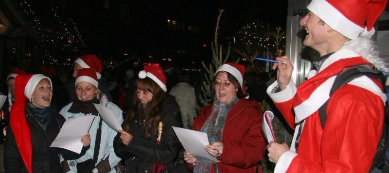 Weihnachtsfeier in Nürnberg