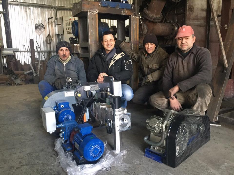 Pyrolysis team
