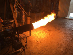 250kW flame
