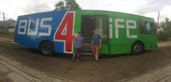 Travelling with Bus 4 Life in south west Ukraine