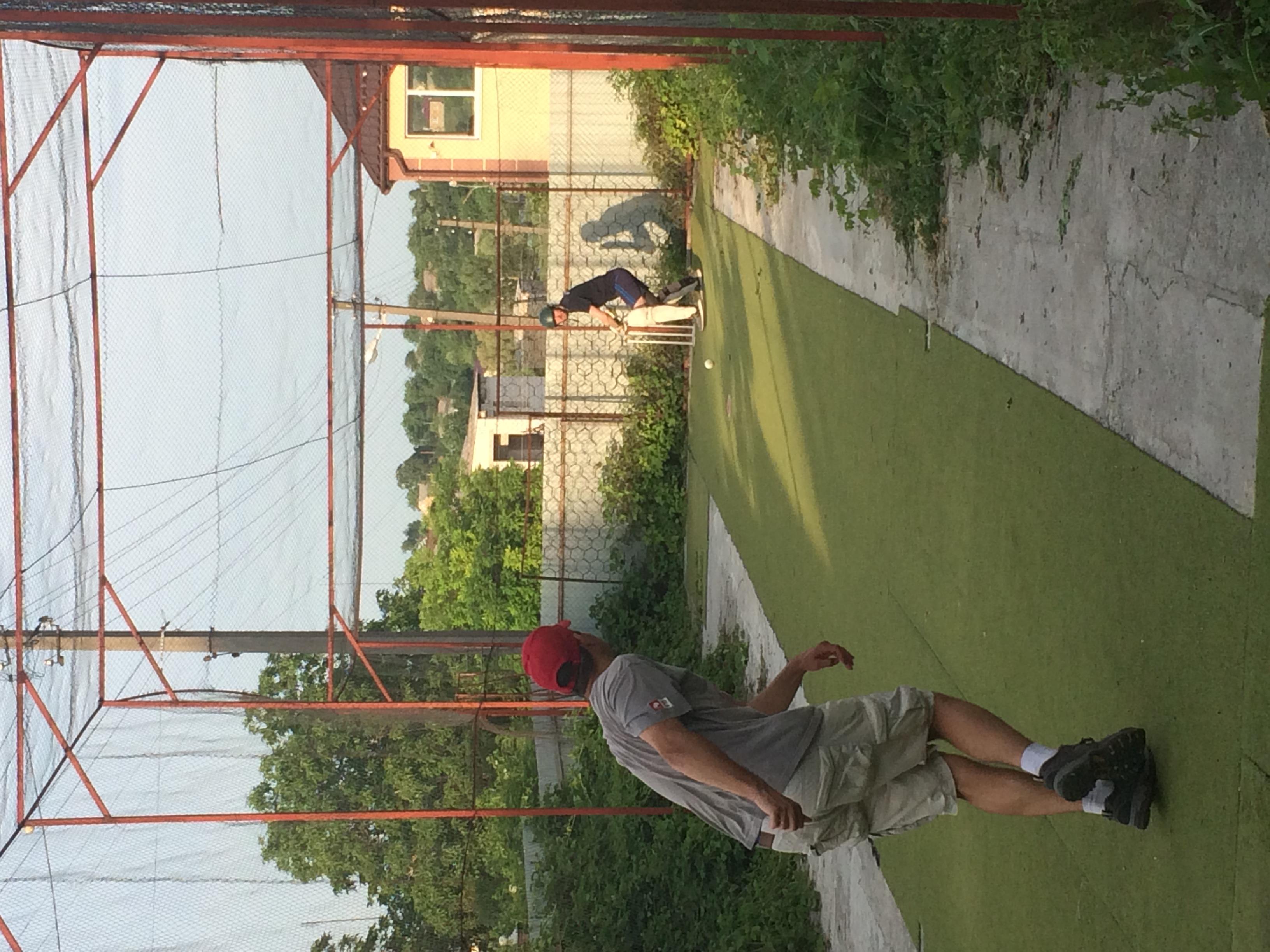 Kaharlyk cricket nets