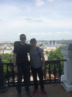 A day in Kyiv