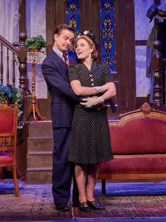 Arsenic and Old Lace at the Lyric Repertory Company, Directed by Jim Christian.