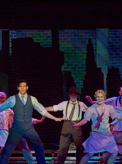 Singin' in the Rain at the Lyric Repertory Company, Directed by Chris Will.