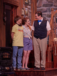 The Foreigner at the Lyric Repertory Company, Directed by Lacy Klinger.