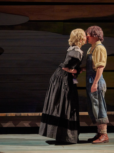 Big River at the Lyric Repertory Company, Directed by Jim Christian.