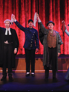 A Gentleman's Guide to Love and Murder at Mason Street Warehouse, Directed by Kurt Stamm.
