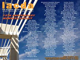LACDA 15th anniversary members exhibit
