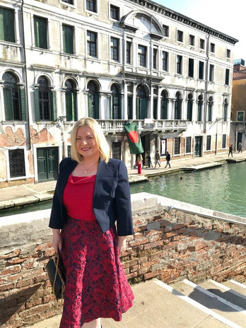 the magnificent Palazzo Zendsio