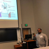 Ravi presenting @ HG2BG2018
