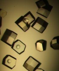 Lysozyme crystals...so jealous!