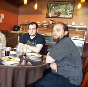 Richard's farewell lunch @ India Mahal