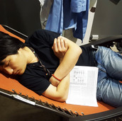 Runrun napping again @ GM/CA