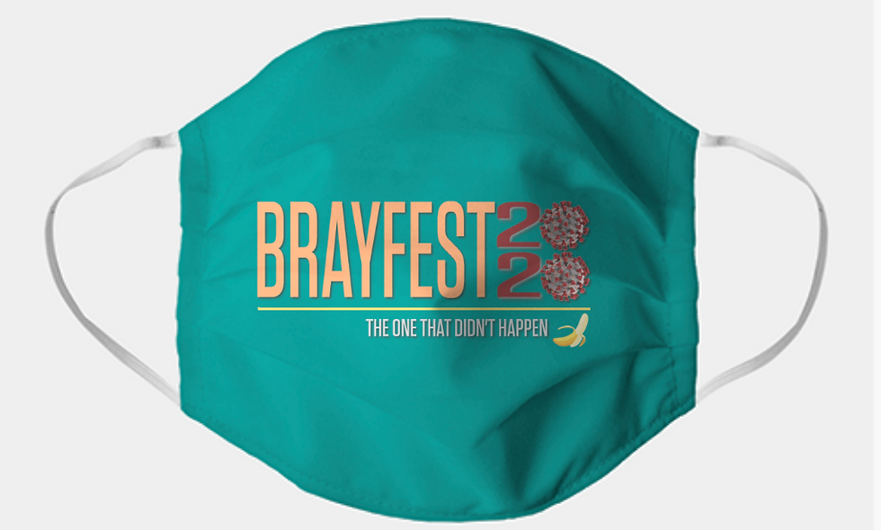 Brayfest 2020 Adult Mask