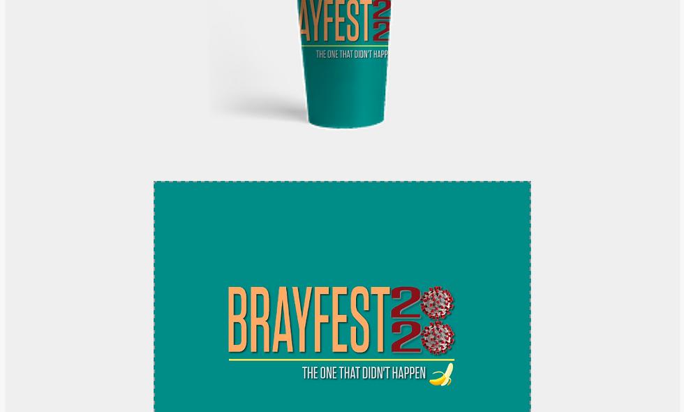 Brayfest 2020 - Travel Mug
