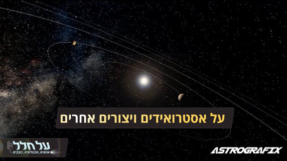 פודקאסט על חלל  איל בן זאב  אנימציה/אפטר אפקטס