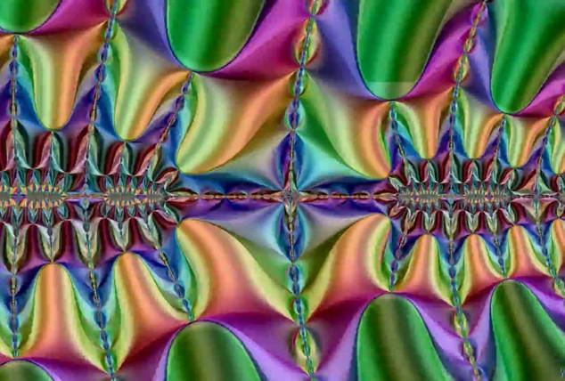 Mzlgcyc - Zoom Mandelbrot Double Coloriage