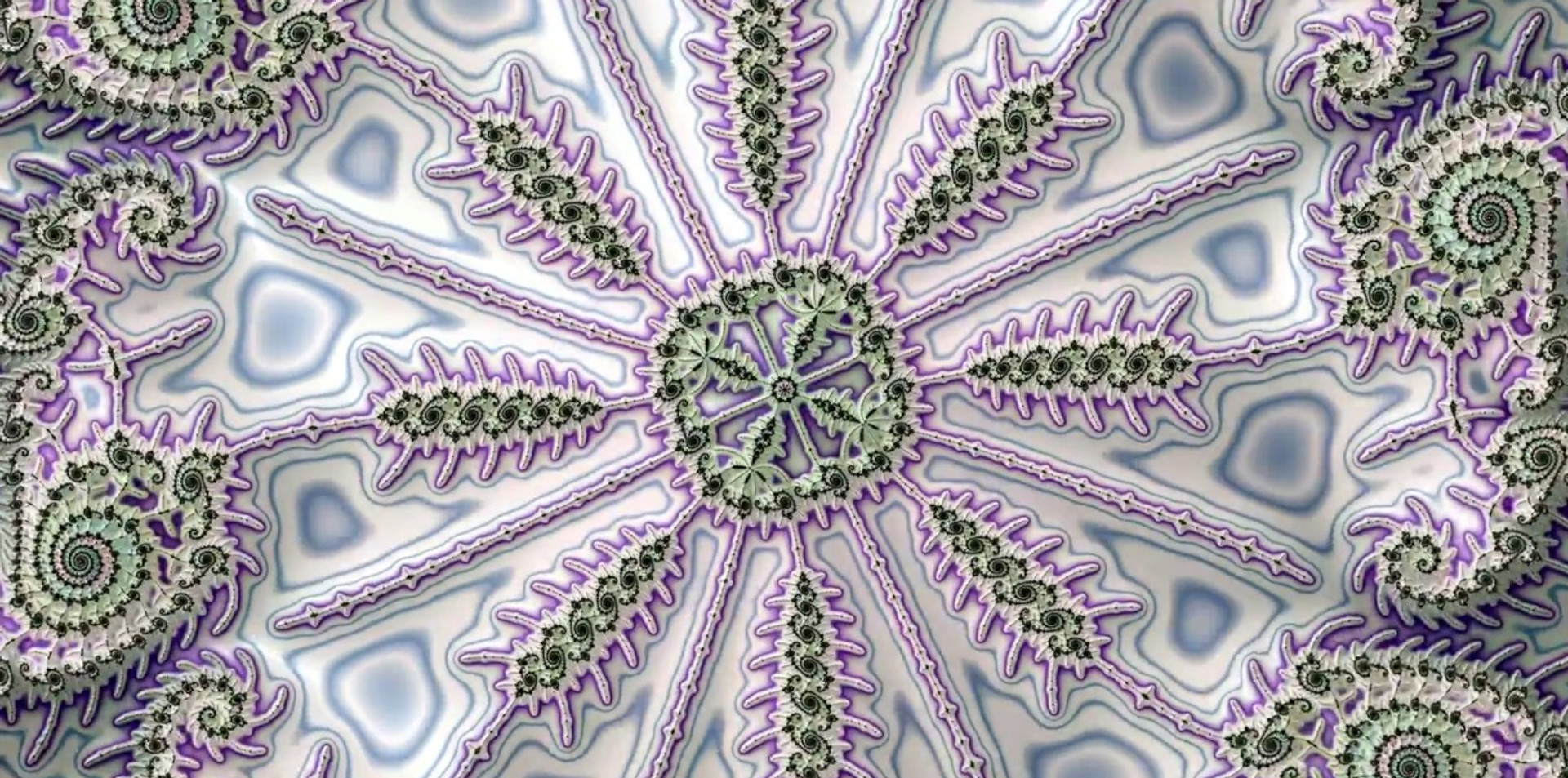 Mztydx - Extrait d'un Zoom Mandelbrot Double Coloration