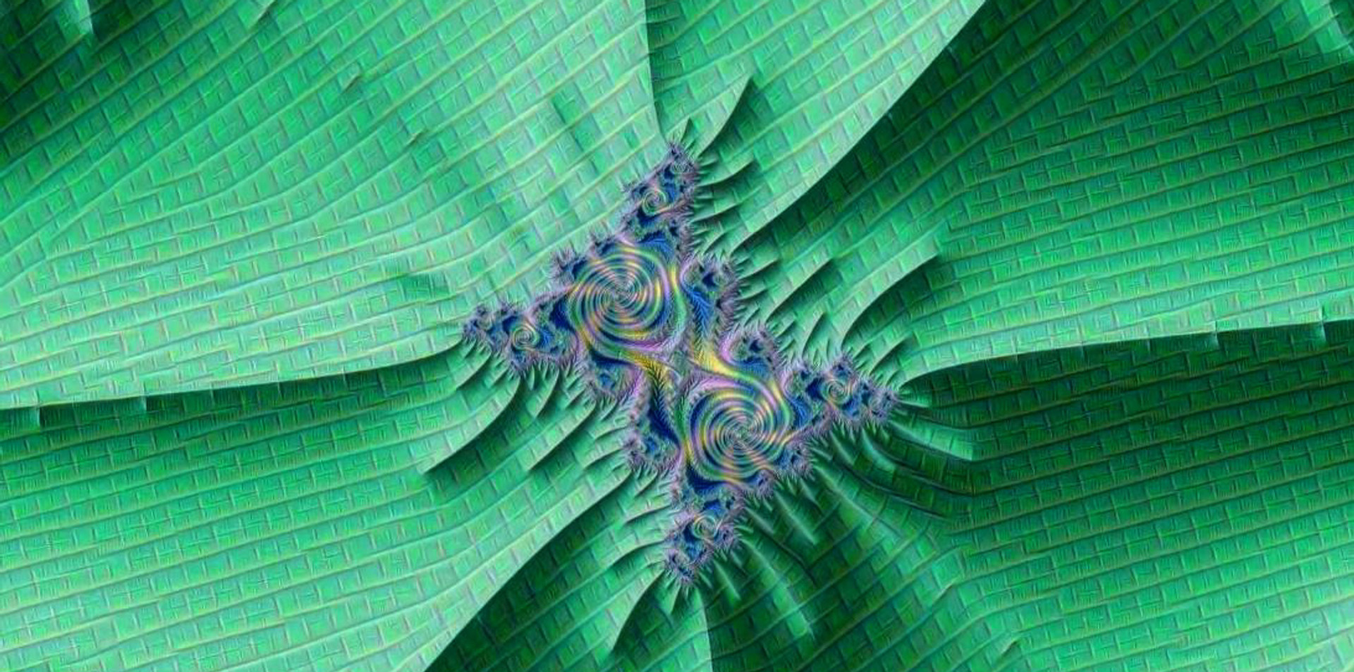 Mzr3bjmDD - Zoom Mandelbrot texturé par Inception.
