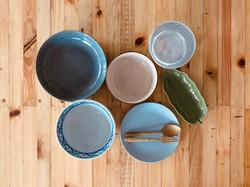 Artisan plates